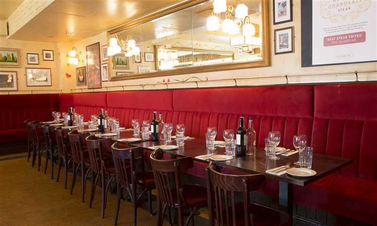 Cafe Rouge Canary Wharf Inside