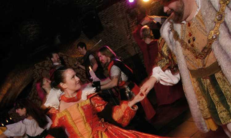 medieval banquet dance