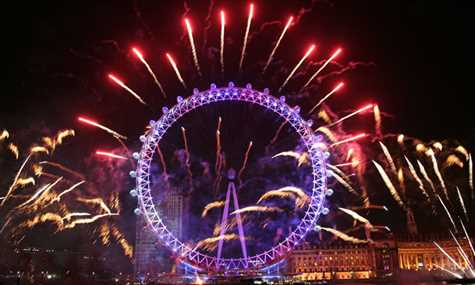 8 Northumberland London Eye Fireworks