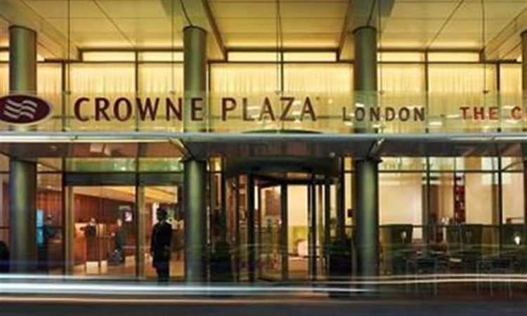 Crowne Plaza City Entrance