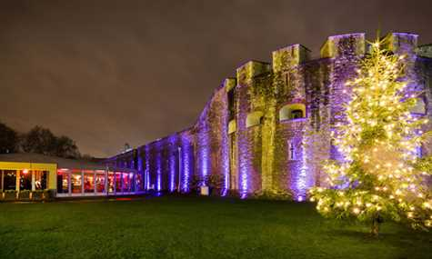 The Tower of London Christmas Marquee